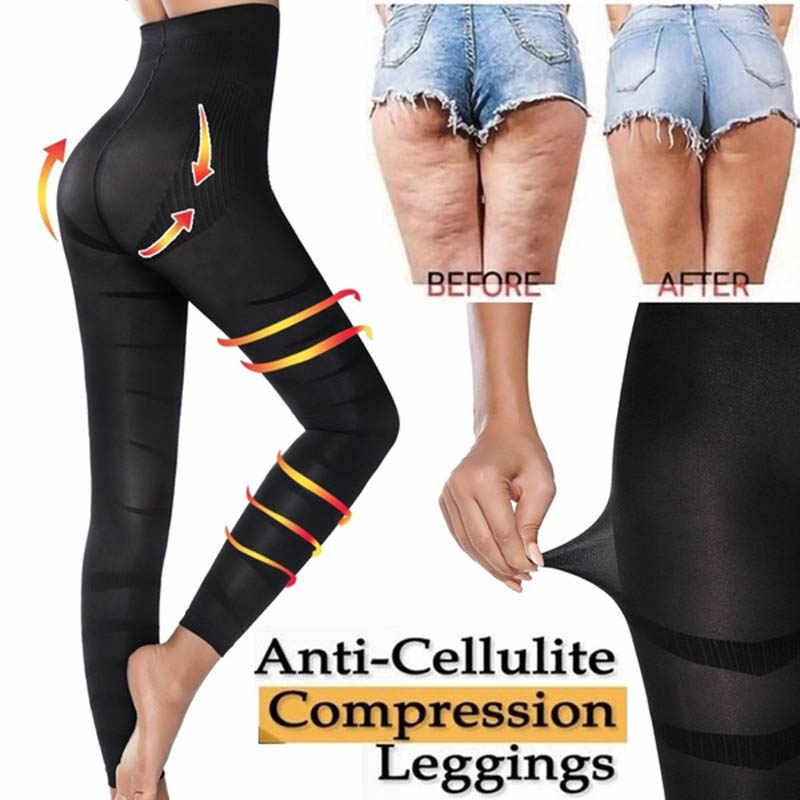 High Waist Leggings Women Sculpting Sleep Leg Legging Tummy ...