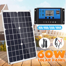 Car-Solar-Panel Crystal Camper-Accessories DC USB with 12/24v PWM Mode 50A/100A AP420