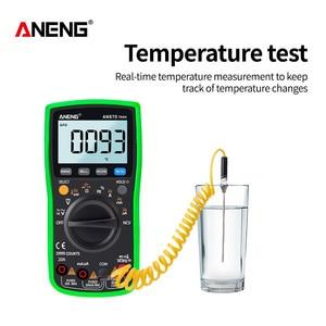 Image 4 - ANENG AN870  Digital Multimeter 19999 Counts True Rms Multimeter Transistor Tester Voltimetro Profesional Capacitance Meter
