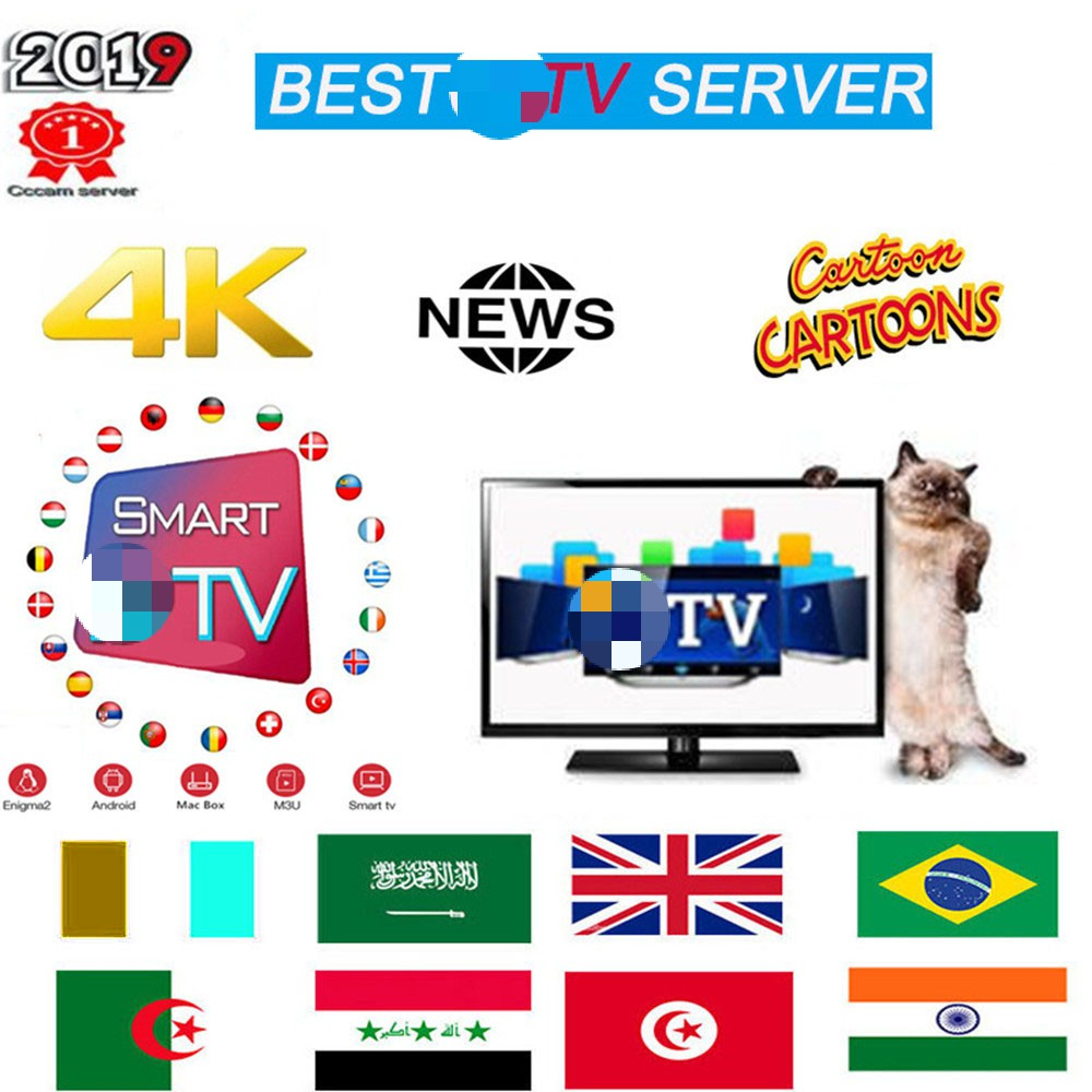 Premium TV Subscription TV Spain M3u 1 Year With 8000+KLD TV & 8000+ Spanish VOE Mosvie HD World Europe List TV Server