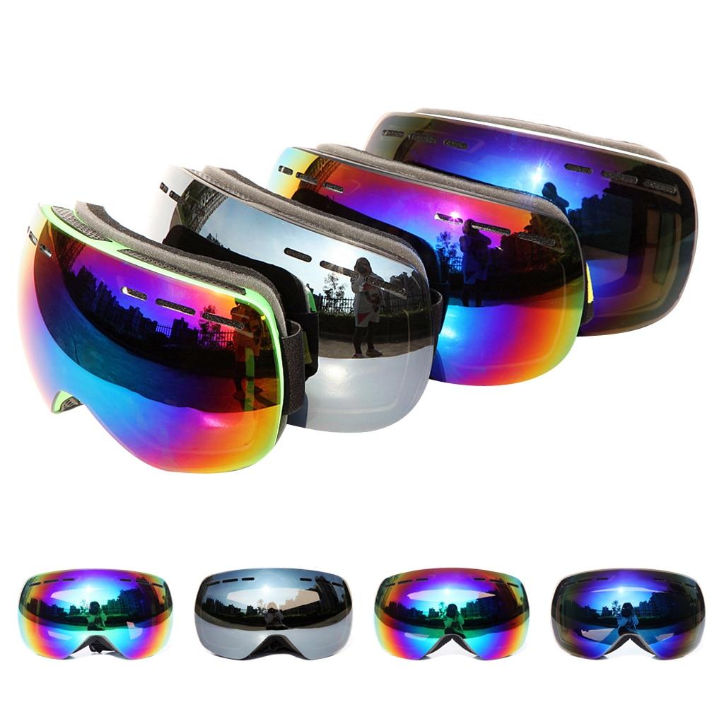 Ski Goggles Anti-fog Ski Mask Glasses UV Protection Skiing Eyewear Winter Windproof Skiing Glasses Goggles Outdoor Sports