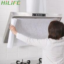 HILIFE Nicht-woven Küche Öl Filter Papier Öl-Proof Aufkleber Dunstabzugshaube Öl-Absorbieren Papier Anti Öl baumwolle Filter