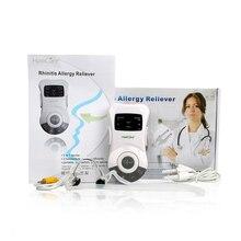 Soins du nez rhinite thérapie anti allergie Laser basse fréquence Congestion nasale sinuite ronflement dispositif de traitement masseur
