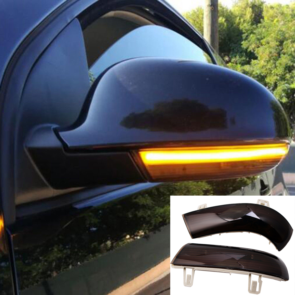 For <font><b>VW</b></font> <font><b>GOLF</b></font> 5 GTI V <font><b>MK5</b></font> Jetta Passat B5.5 B6 Dynamic <font><b>LED</b></font> Side Wing Dynamic Turn Signal <font><b>Light</b></font> Rearview Mirror Indicator Blinker image