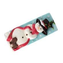 Рождественская силиконовая форма «Снеговик» для торта Мусса