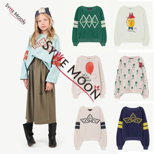 2019 New Tao Brand New Autumn Winter Kids Sweaters Boys Girls Fashion Print Sweatshirts Baby Children Cotton Clothes Costume(China)