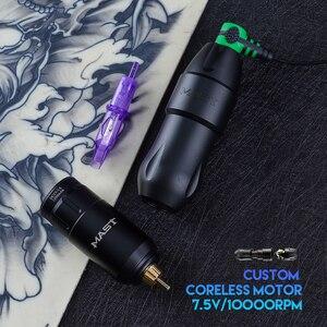 Image 5 - Più nuovo Albero Tatuaggio Macchina Rotativa Del Tatuaggio Della Macchina Della Penna Accessori per il Tatuaggio