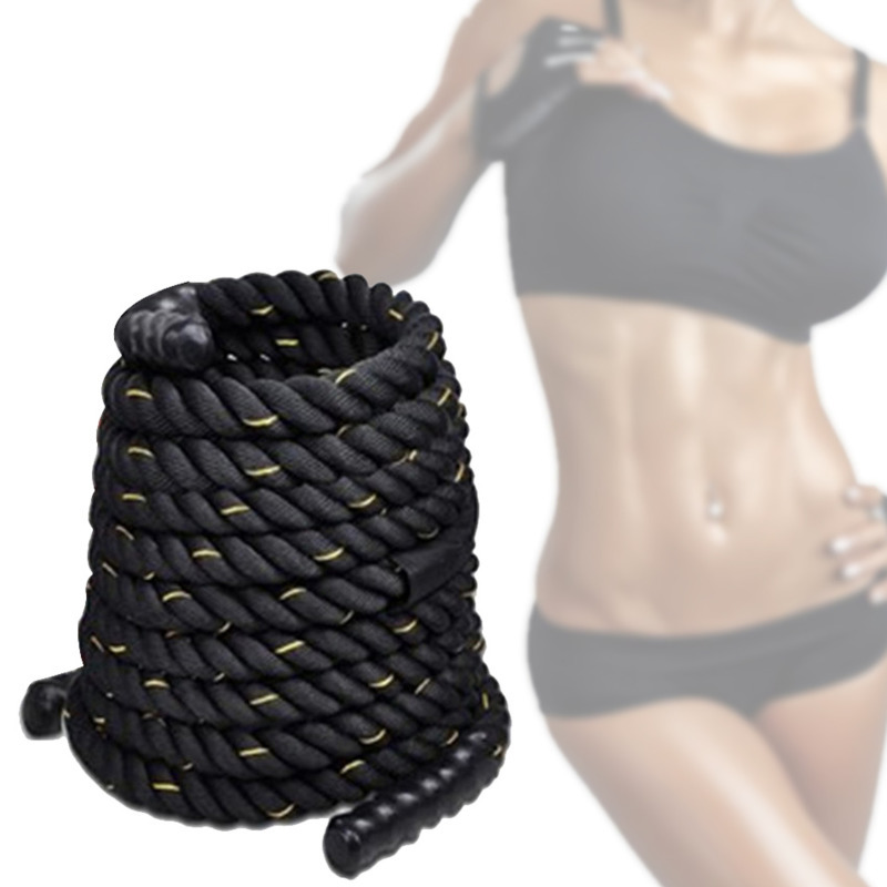 12M Heavy Undulation Battle Rope For Women Workout Training Rope Slimming Fat Burning Bodybuilding Sport Fitness Equipment HW174