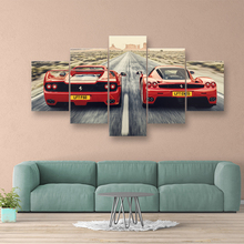Sports car GTO,F40,F50 Wall Art Canvas Painting Classic Retro Car Picture Bedside Home Decorative Posters HD Print Artwork Mural