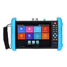 SEESII testeur de vidéosurveillance 9800PLUS 7 pouces 4K 1080P, caméra IPC, écran tactile analogique CVBS avec POE HDMI, H.265 WIFI, 8 go