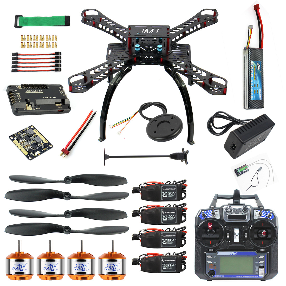 Radiolink 2.4 G Cadre F08191-H APM2.8 GPS Full AT10 S500 TX Kit RX À faire soi-même Drone