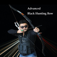 30-50lbs 56inch Recurve Bow Takedown Bow For Hunting Sports Shooting Metal Riser+Carbon Arrows Archery Target Shooting Outdoor