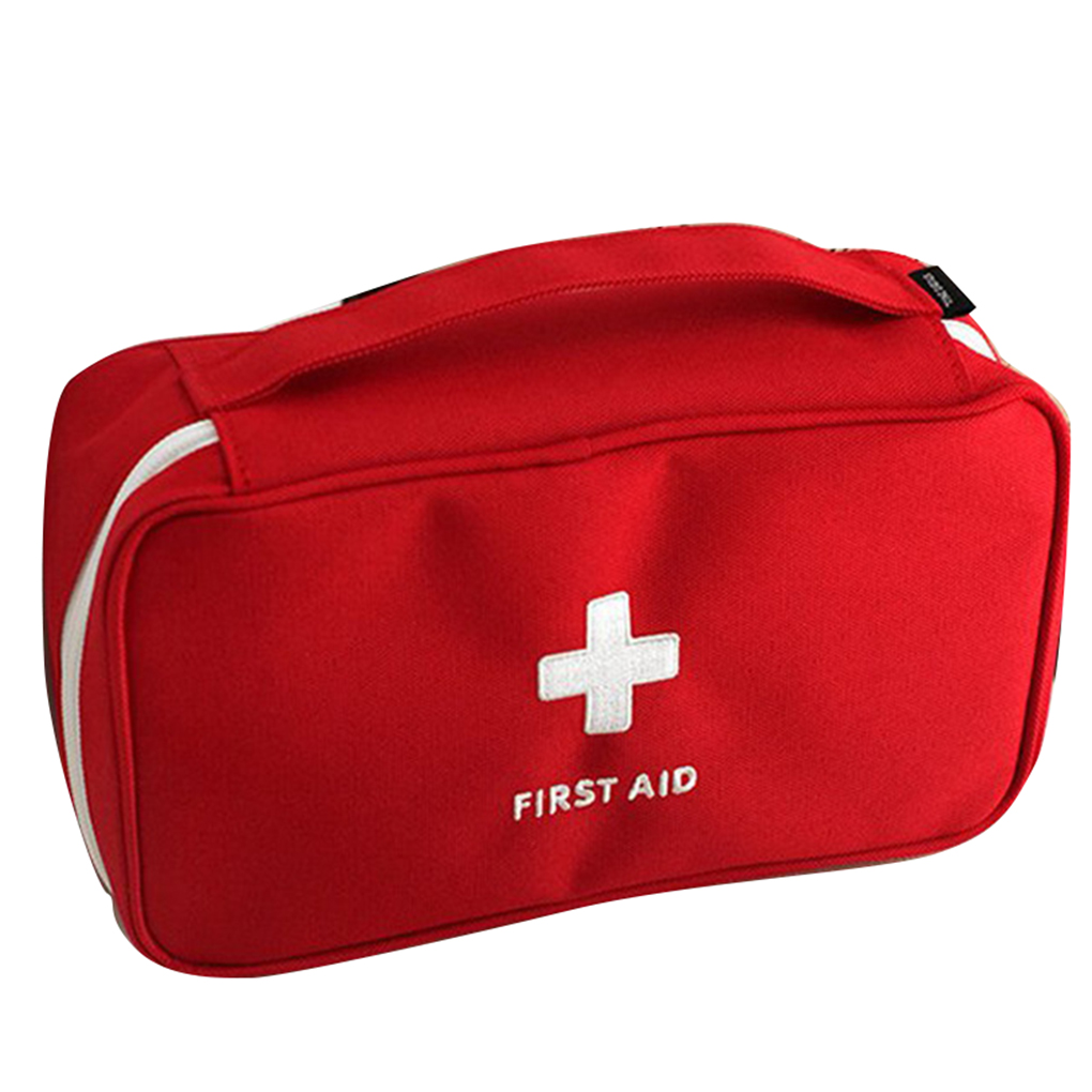 Portable Storage Bag First Aid Kit Bag Emergency Medicine Bag Outdoor Pill Survival Organizer Travel Survival Rescue Box