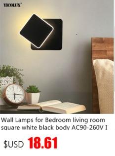 Luminária de cabeceira led em acrílico, instalação