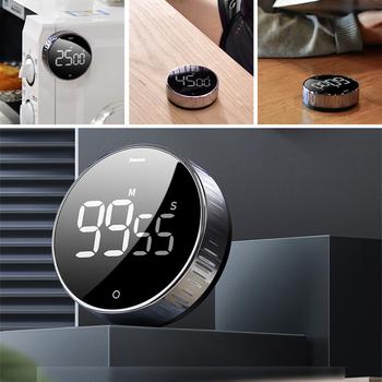 Stoper cyfrowy LED do gotowania prysznic Study sport budzik magnetyczny elektroniczny minutnik akcesoria do kuchni domowej tanie i dobre opinie Przypomnienie o ustawieniu czasu CE UE COMMON Countdown Timer Cyfrowe minutniki Other Z tworzywa sztucznego Ekologiczne