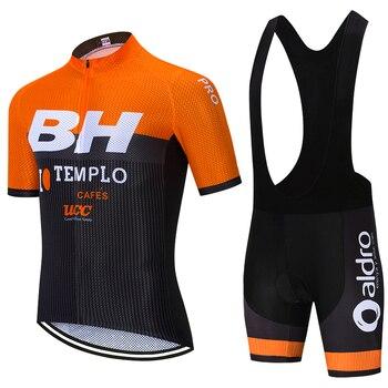 Naranja BH ciclismo desgaste 20D bicicleta pantalones cortos traje de verano MTB...