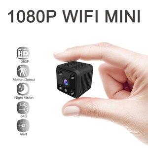 Image 1 - Mini caméra de Surveillance de batterie IP WIFI HD 1080P, dispositif de sécurité domestique sans fil, avec capteur, Vision nocturne infrarouge