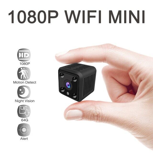 Mini caméra de Surveillance de batterie IP WIFI HD 1080P, dispositif de sécurité domestique sans fil, avec capteur, Vision nocturne infrarouge