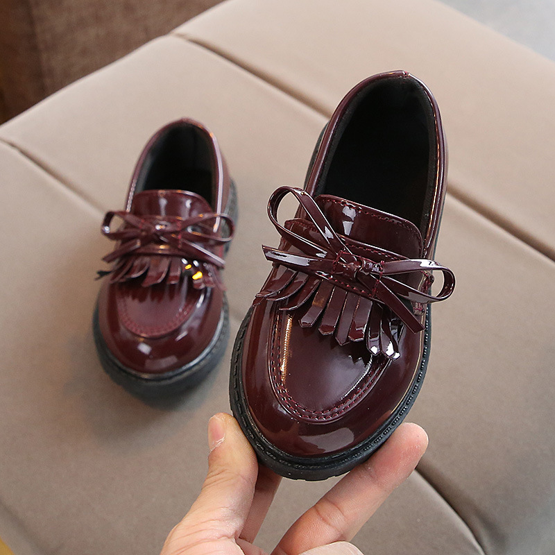 Children's Patent Leather Shoes