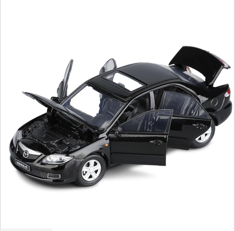 Коллекция Модель автомобиля 1:32 Япония Mazda 6 Atenza сплава Классическая модель автомобиля игрушечный автомобиль модель светильник игрушка Детс...