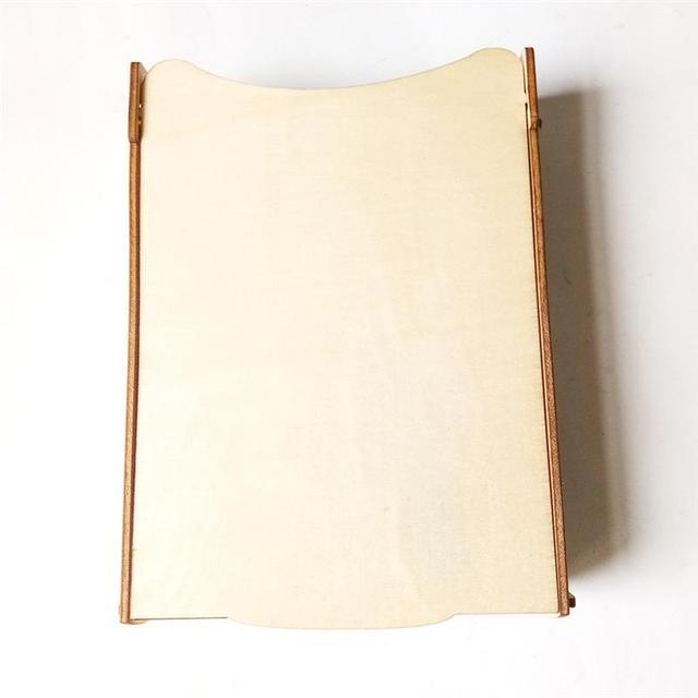 Boîte à Signature de mariage en bois | Livre dor rétro en bois, boîte de rangement en forme de cœur (blocs en forme de cœur)
