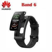 Original Huawei Band 6 Talkband B6 Bluetooth Smart Band Armband Wearable Sport Armbänder Touch AMOLED Bildschirm Anruf Kopfhörer