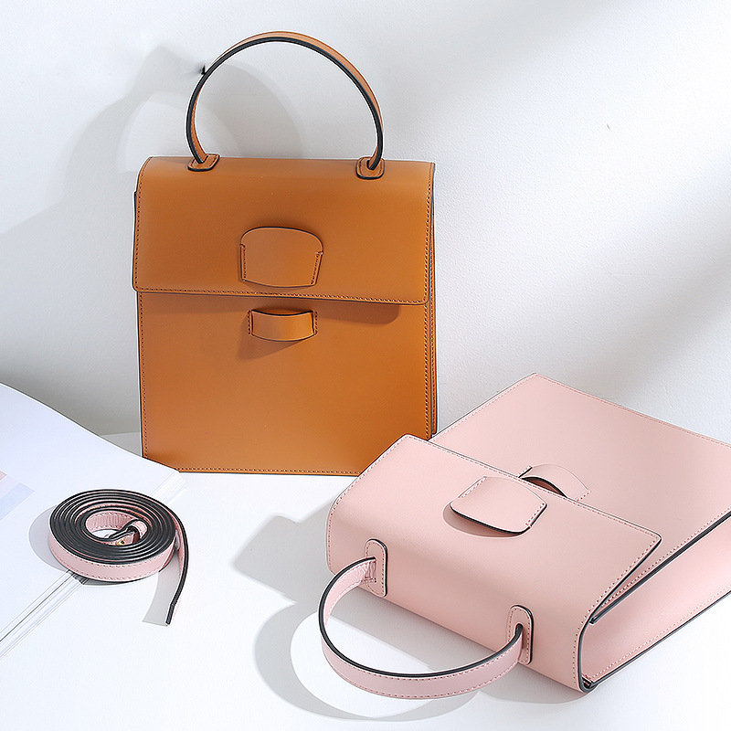 Sac de mode pour femmes, sac fait main en cuir, sac de mode, 2019