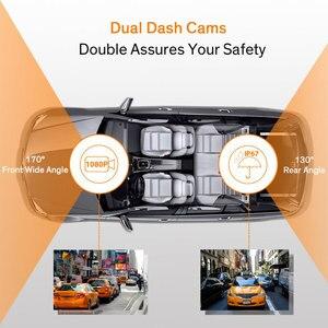 "Image 3 - 4.0""Dash Cam New Dual Lens Car DVR Camera Full HD 1080P  Front+Rear Camera Video Registrars G Sensor Night Vision Dash Cam"