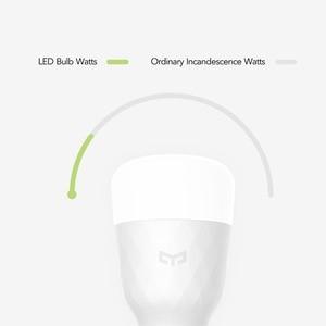Image 5 - [אנגלית גרסה] Yeelight חכם LED הנורה צבעוני 800 Lumens 10W E27 לימון חכם מנורת עבור Mi הבית אפליקציה לבן/RGB אפשרות