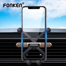 FONKEN Gravity Car Holder For Iphone Xiaomi Samsung Universal Smartphone