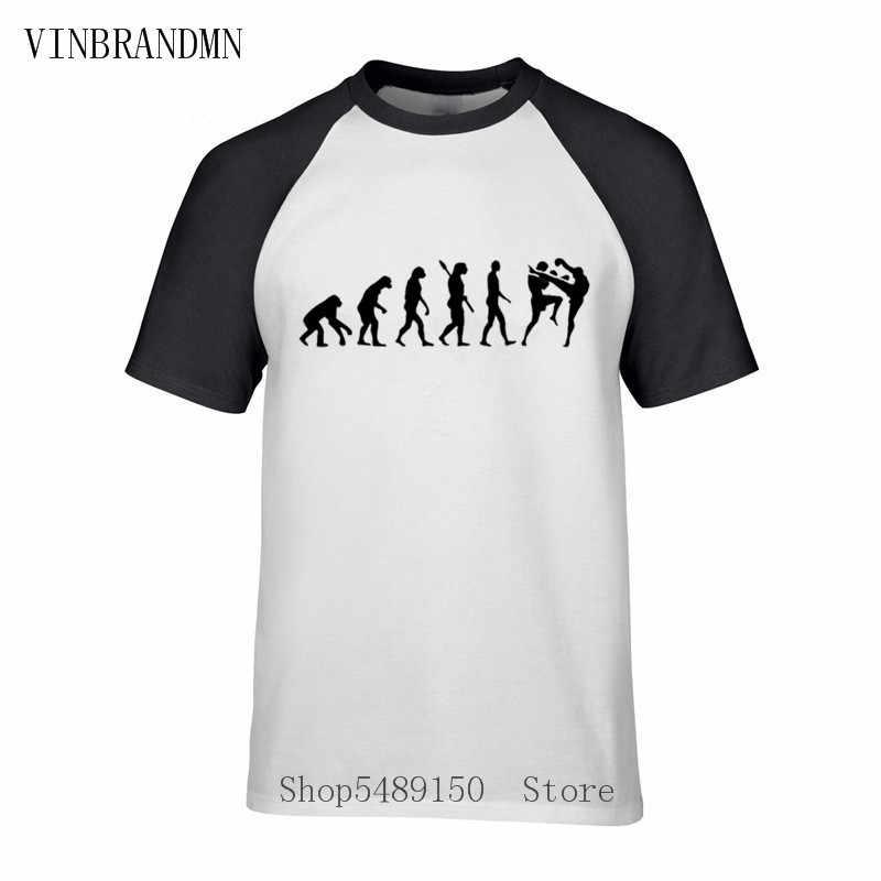 Muay Thai Evolution T-Shirt Neue Boxen Kämpfen Judo Kurzarm Hipster T-shirt Conor Khabib T Shirt New Streetwear Fans Tops