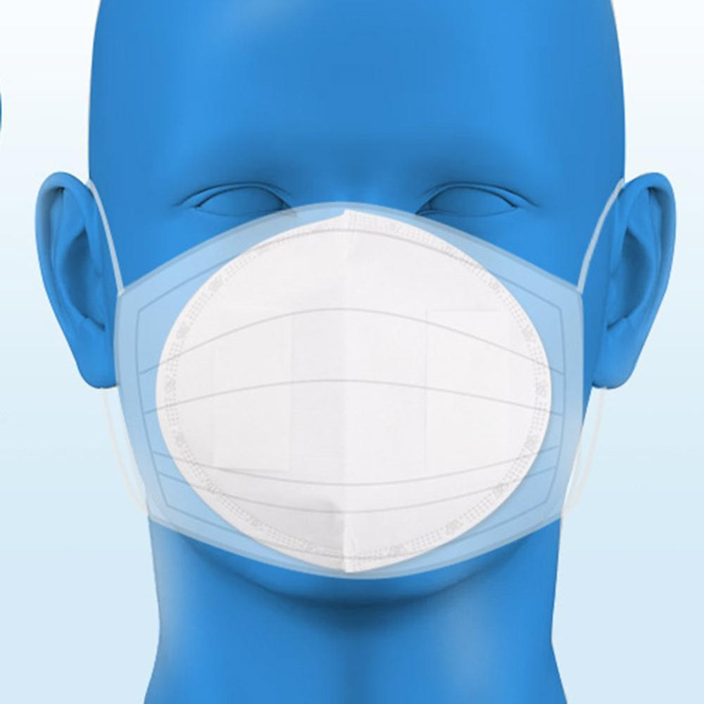 Disposable Dust-Proof Breathable Mask Haze Mask Gasket 50 Pcs Party Masks Filters Protective Mouth Replaceable Filters