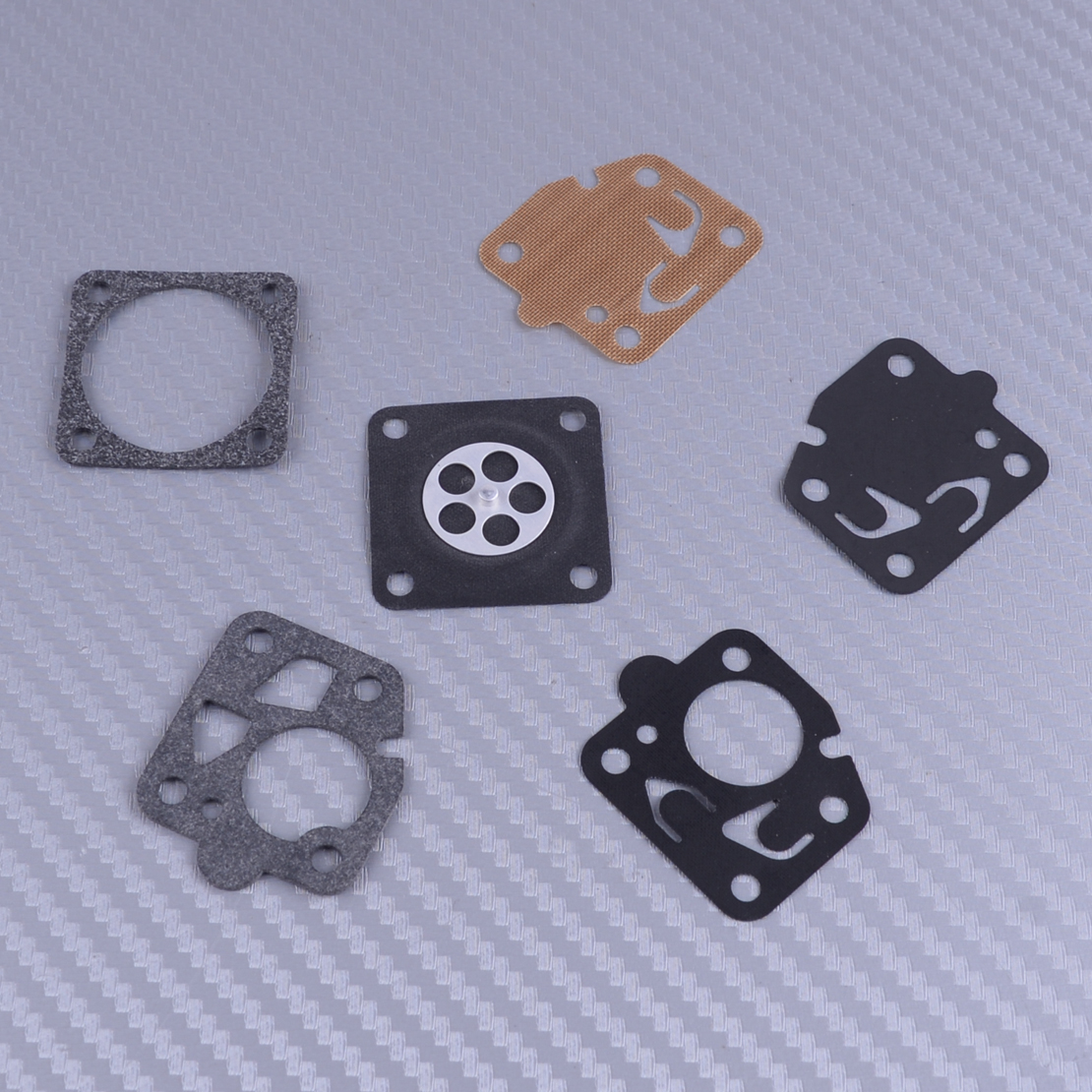 LETAOSK Carburetor Carb Gasket Repair Rebuild Kit Fit For Kawasaki TG18 TG20 TG24 TG28 TG33 TF22 Engine Tool Part