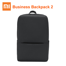 Xiaomi mijia Classic Backpack Business Backpack 2 15.6inch 18L Laptop Shoulder Bag Level 4 Waterproof Bag Unisex Outdoor Travel