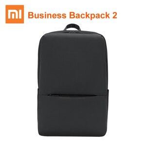 Image 1 - Xiaomi mijia Classic Backpack Business Backpack 2 15.6inch 18L Laptop Shoulder Bag Level 4 Waterproof Bag Unisex Outdoor Travel
