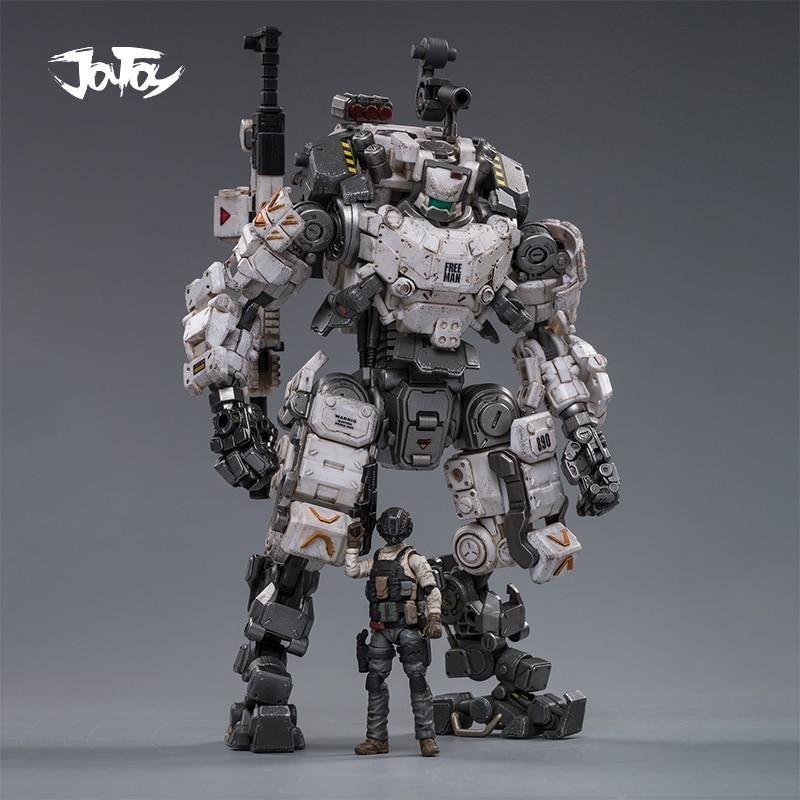 2 шт./лот, новинка 2020, JOYTOY 1/25, фигурка робота, стальная кость, броня, серый мех, коллекция моделей, игрушки, бесплатная доставка