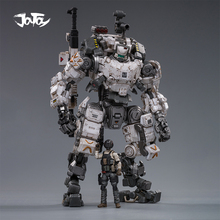 (2ชิ้น/ล็อต) JOYTOY 1/25 Action Figureหุ่นยนต์ทหารกระดูกเกราะสีเทาMecha Collectionรุ่นของเล่นคริสต์มาสของขวัญ