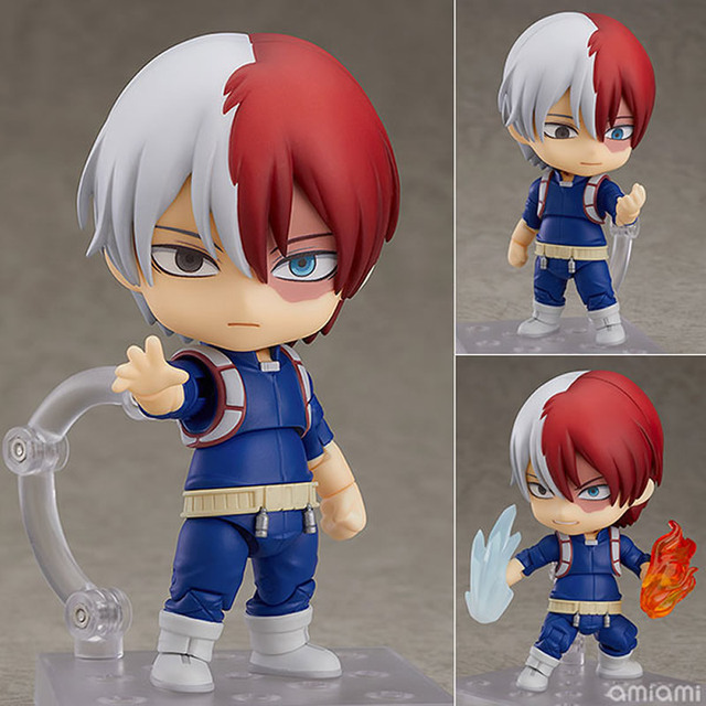 Details about  /9pcs My Hero Academia Todoroki Shouto All Might 8-10cm PVC Figure Toy Hot Model