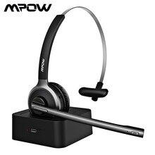 Mpow – casque d'écoute sans fil Bluetooth 5.0, avec micro anti-bruit, mains libres, pour bureau et extérieur, BH231 M5 Pro
