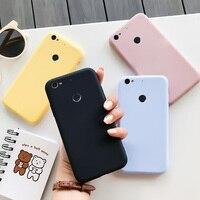 Per Letv LeEco 1s custodia in Silicone Macaron colori Candy Soft TPU Cover posteriore per telefono con custodia nera semplice
