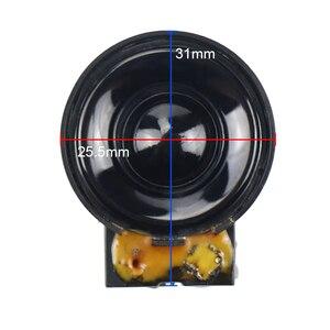 Image 2 - GHXAMP 26 مللي متر سوبر مكبر الصوت المجال المغناطيسي عالية الملعب مكبر الصوت 4 أوم 5 واط 2 قطعة