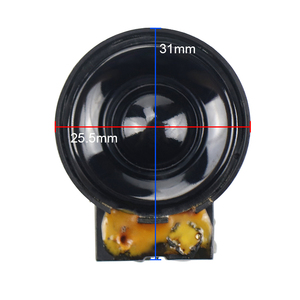 Image 2 - GHXAMP súper altavoz de agudos de 26MM, altavoz magnético de campo de tono alto, 4 ohmios, 5 W, 2 uds.