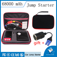 Emergency Power Bank Mini Car Jump Starter 600A 12V Portable Car Auto Electric Pump Air Compressor Tire Inflator 150PSI|Jump Starter| |  -