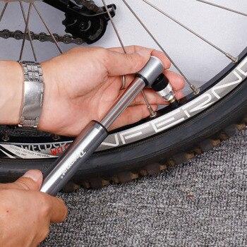 160PSI Radfahren Pumpen Mini Fahrrad Pumpe Hand Tragbare Fahrrad Pumpen Aluminium Ultraleicht Inflator Fahrrad Luftpumpe