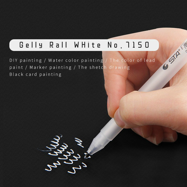 Gelly Roll Classic Art Marker Pen Gel Ink Pens Bright White Pen Highlight Markers Color Highlighting