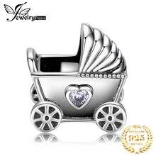 JewelryPalace коляски 925 стерлингового серебра бусины шармов Fit браслет Оригинал оригинал для изготовления ювелирных изделий