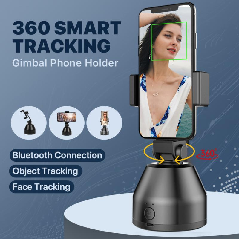 Smart Gimbal Pivo Camera 360 Auto Tracking Smart Shooting Phone Holder Auto Face Tracking Object Tracker Smart Shooting Gimbal