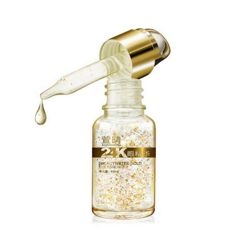 Emas Murni Foil Esensi Hyaluronic Acid Cair Krim Wajah Whitening Pelembab Anti-Aging Anti-Kemerahan Serum Xgr Kulit peduli