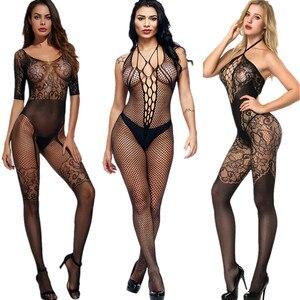 women sexy stockings full romper for women intimates slips sexy underwear sex lingeri medias de mujere jumpsuit body stocking