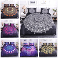 Luxury 3D Floral Print Bedding Set Bed Duvet Cover Set Bed Comfortable Cover Single/Full/Twin/Queen/King size
